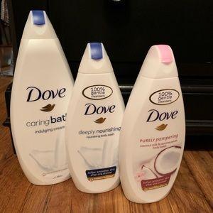 Other - Dove body wash bundle